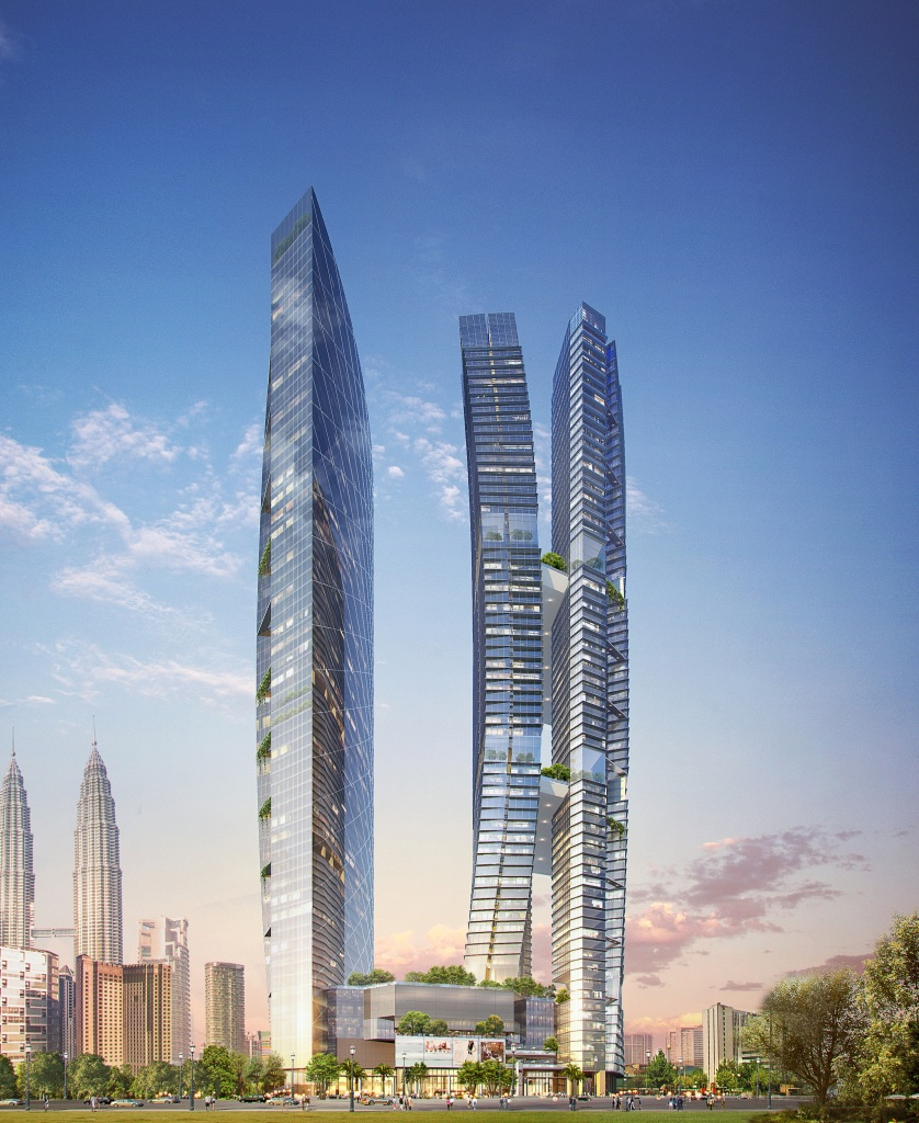 8 Conlay apartment's concept is to provide living space for people looking to reside not far from the heart of Kuala Lumpur.