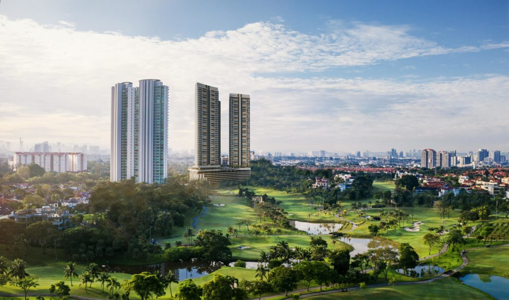 Let the expansive golf course and lush surroundings wake you up with verdant views, flourishing with life and tranquillity.