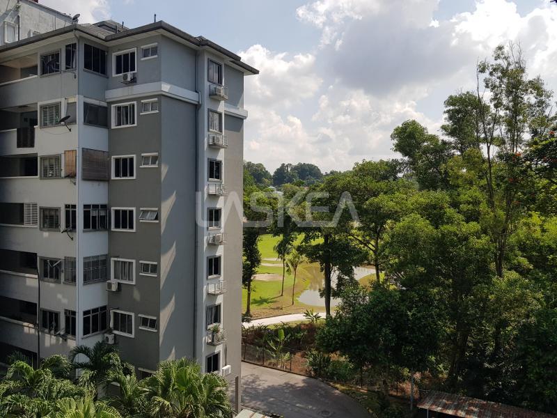 Condominium for Sale 3r2b 1,024 sqft EndLot at Sri Permata Condo, Shah Alam, Selangor