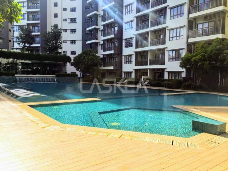 Condominium for Sale 2r1b 600 sqft Freehold at Suria Residence, Bukit Jelutong, Selangor