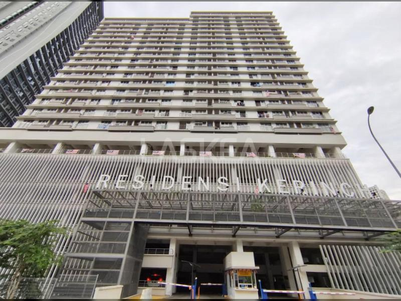 Condominium for Sale 3r2b 900 sqft at Residensi Kerinchi, Bangsar South, Kuala Lumpur