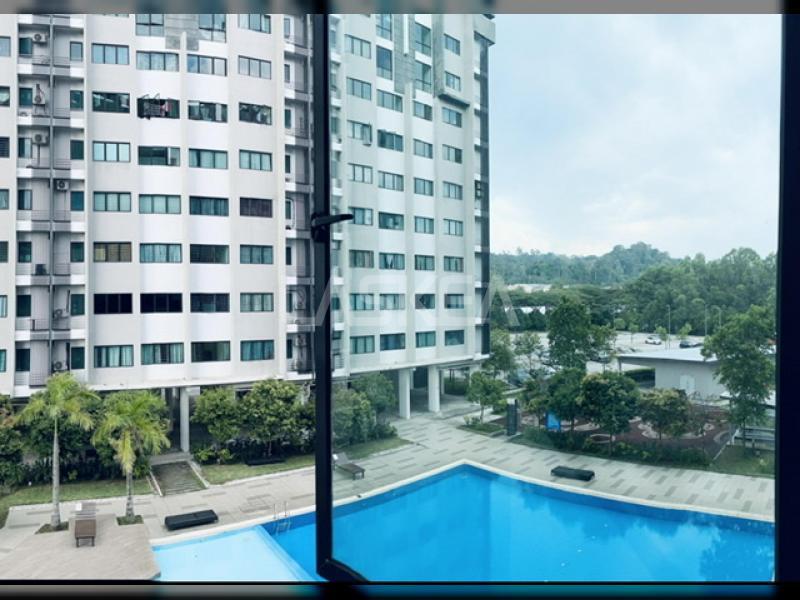 Apartment for Sale 3r2b 700 sqft Freehold at Suria Rafflesia, Denai Alam, Selangor